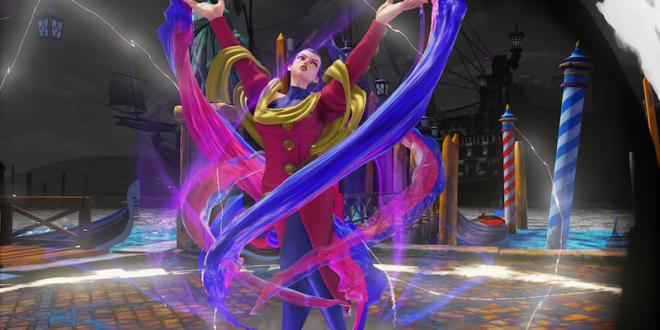 Alpha's Rose makes her debut in Street Fighter V