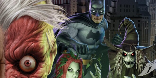 Meet the daughter of The Roman in the newest look at Batman: The Long Halloween part 2