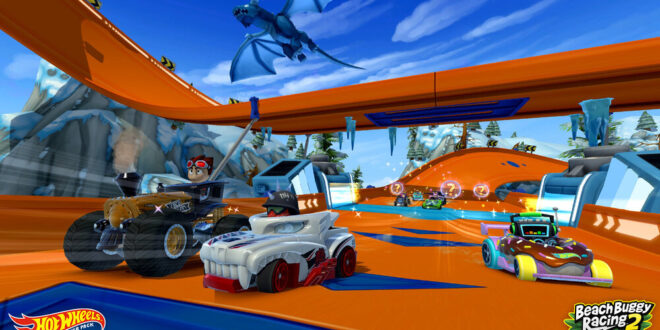 A 7 pack of new rides arrive tomorrow for Beach Buggy Racing 2