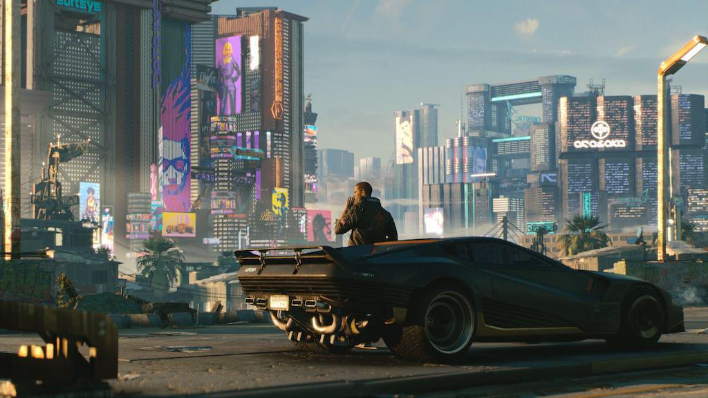 Promo image for cyberpunk 2077.