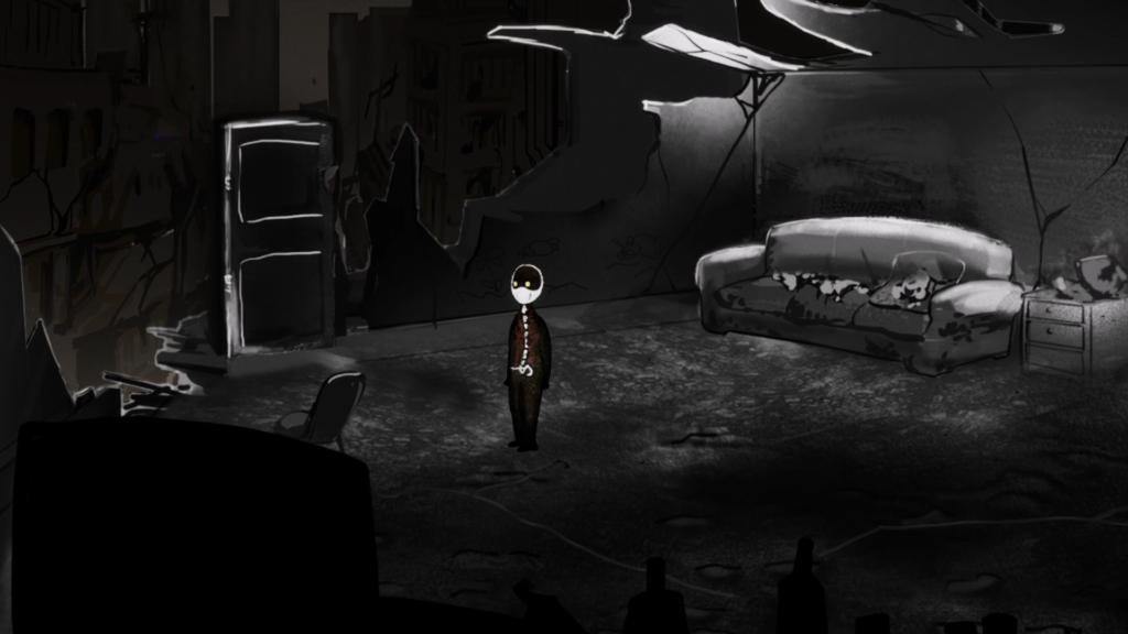 The Man Without Organs explores a room