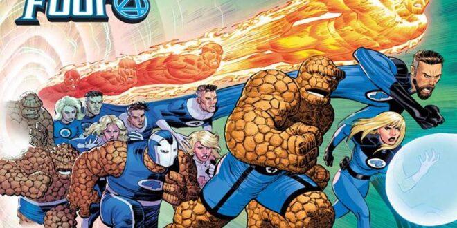 Fantastic Four #35 features JRjr wraparound cover