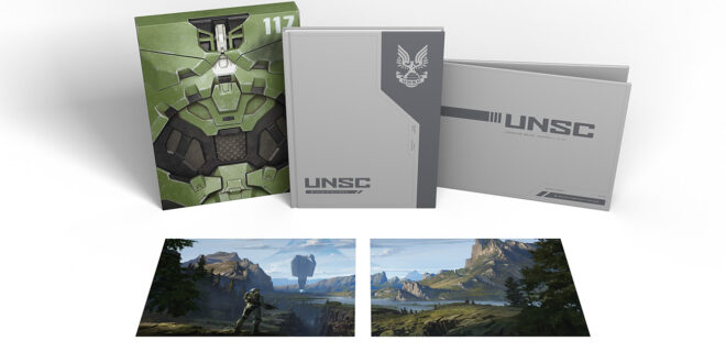 Explore the world of Infinite with The Art of Halo Infinite: Deluxe Edition