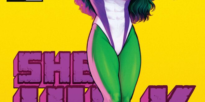 She-Hulk returns in her classic form this January